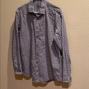 Kenneth Cole Dress shirt men 16 1/2 (34-35)